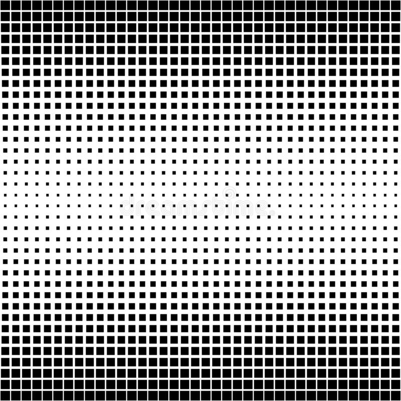 Pattern background abstract texture, vector shape perforated square, Halftone background retro style royalty free illustration