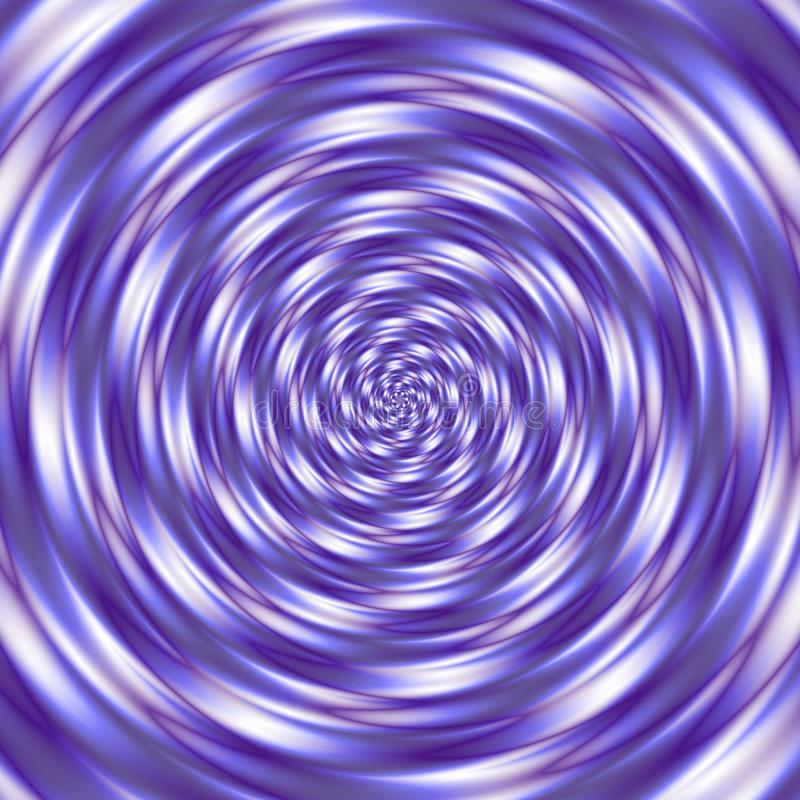 Pattern background spiral tunnel ultra violet, purple, lavender and white colored royalty free illustration