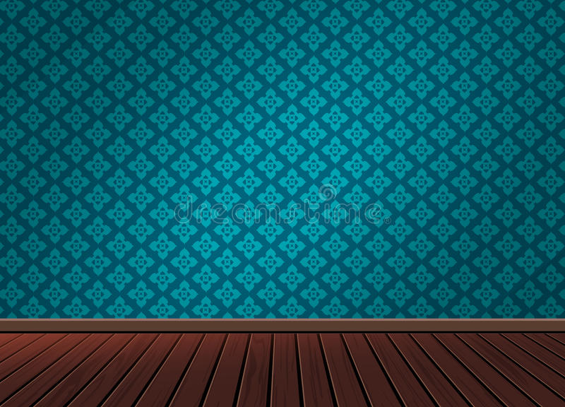 Pattern background texture with wooden floor in vintage style stock photos