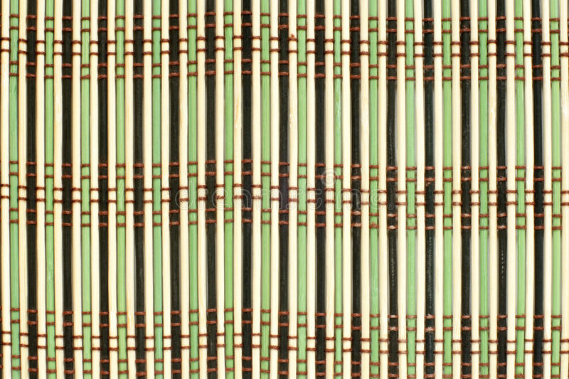 Download Pattern  Of Bamboo Placemat Stock Photo - Image: 23207548