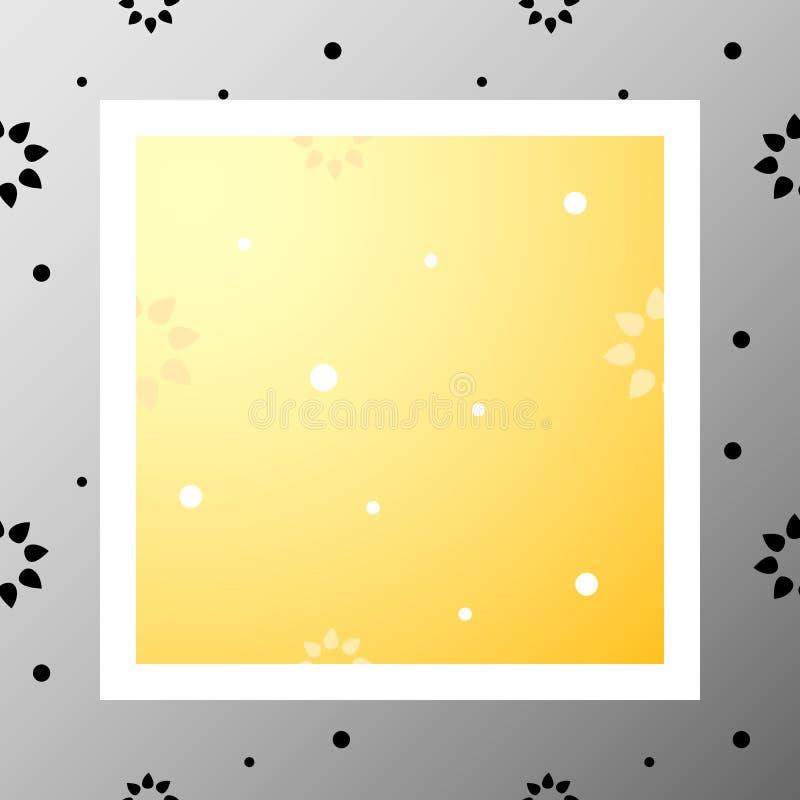 Pattern-013 - blommor royaltyfri illustrationer