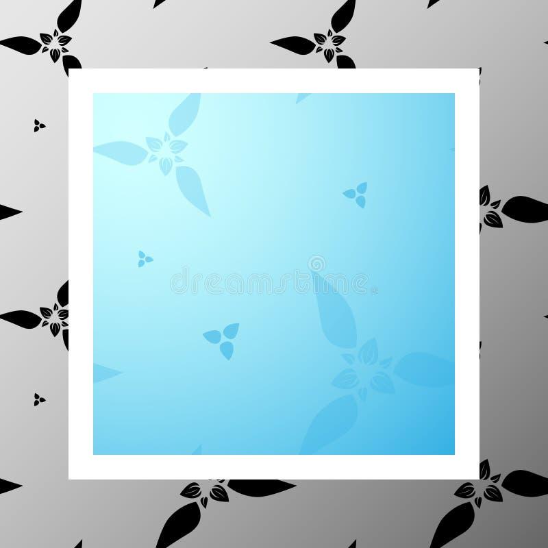 Pattern-011 - blommor stock illustrationer