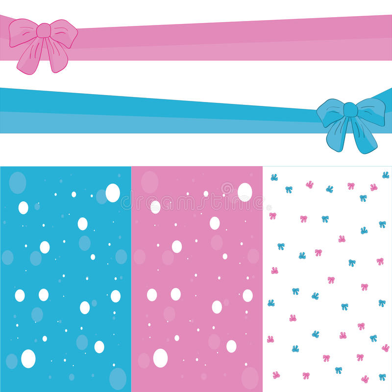 Pattern bow. Pattern and backgrounds. Ideal for printing , fabric or scrap booking vector illustration