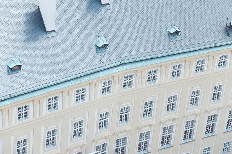 Pattern of building stock image