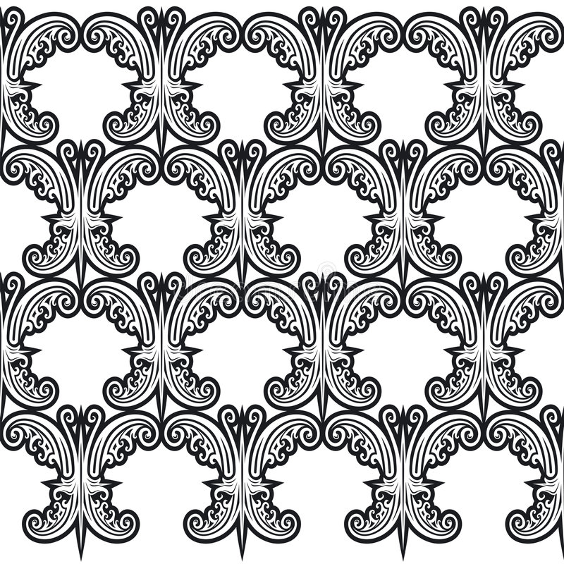 Free Pattern Butterfly 1 Royalty Free Stock Image - 2472286