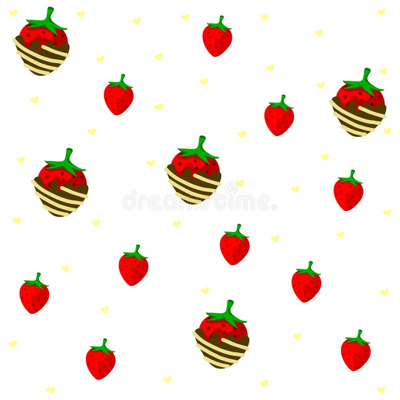 Pattern candy. On the background vector illustration