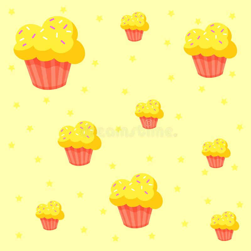 Pattern candy. On the background royalty free illustration