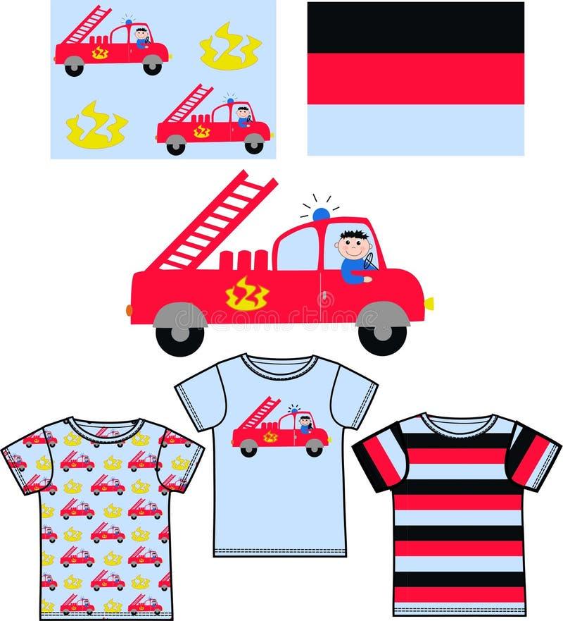 Download Pattern For Childrens Clothes Stock Illustration - Illustration: 20429299