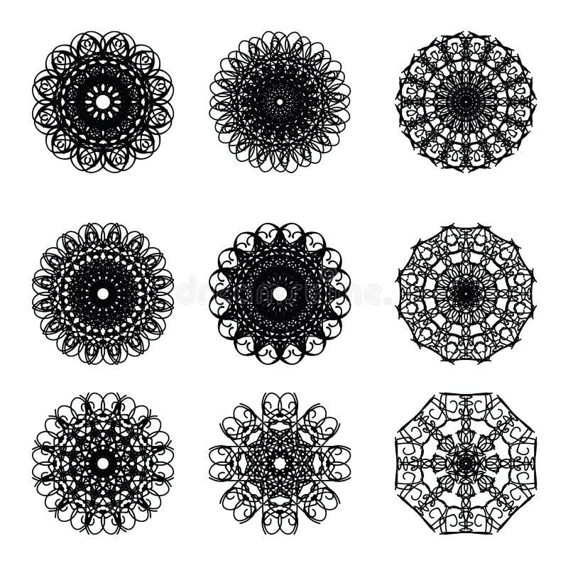 Pattern cirle design 11. Pattern circle graphic design decorate vector illustration