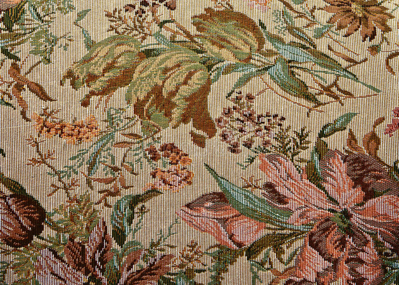 Download Pattern Of Classical Ornate  Floral Tapestry Stock Image - Image: 25120907