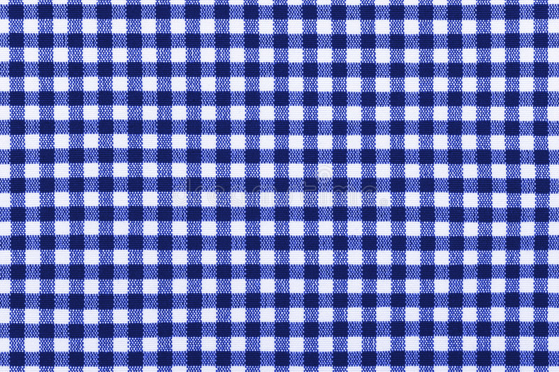 Pattern on cloth. Square pattern on cloth, abstract textile background royalty free stock photography