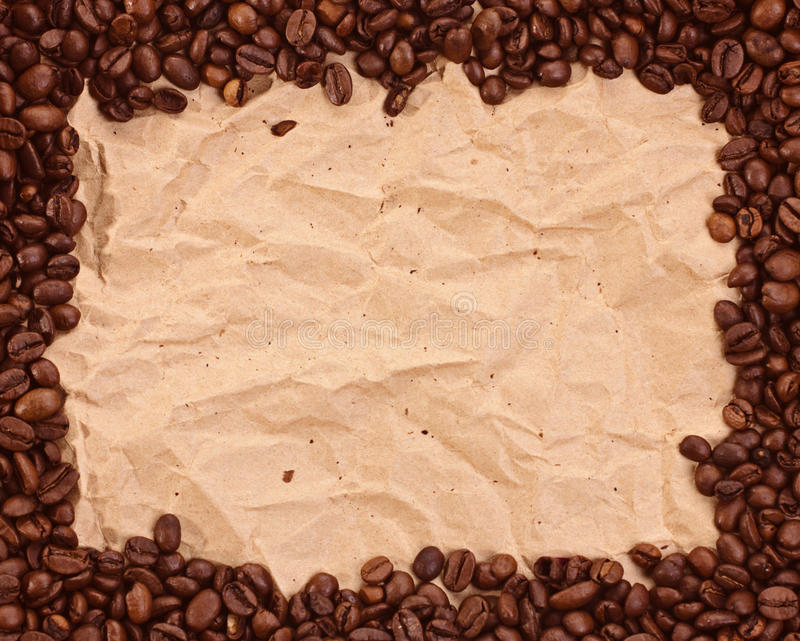 Download Pattern with coffee stock photo. Image of beans, dark - 26044382