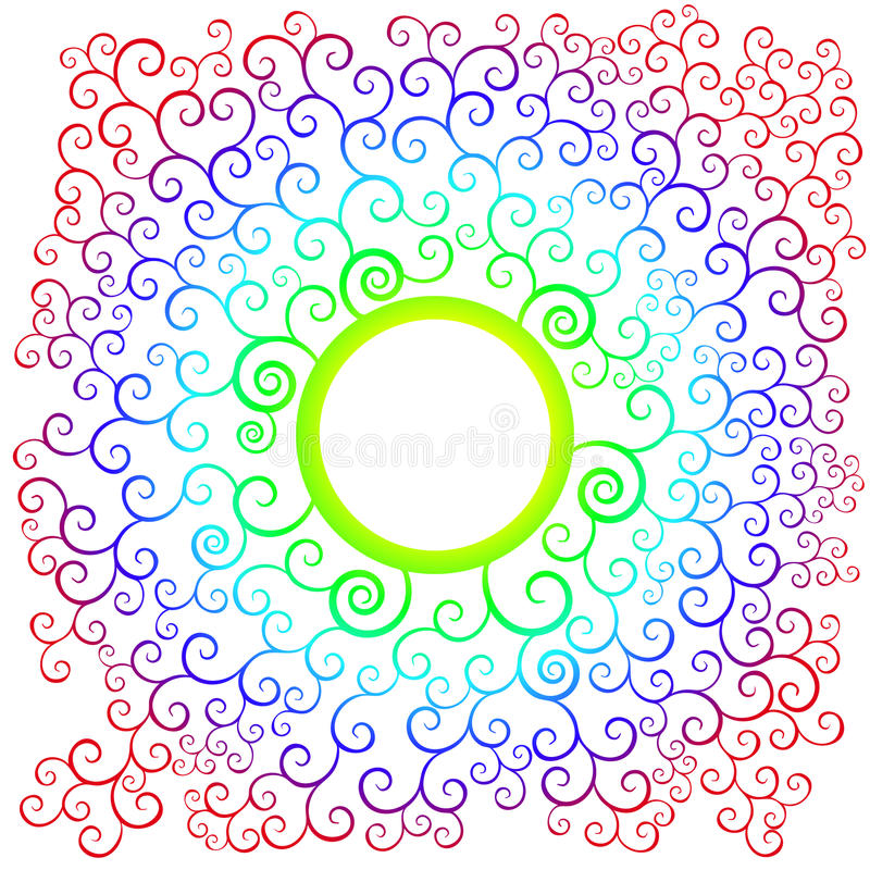 Download Pattern color stock vector. Image of vector, circle, pattern - 22709875