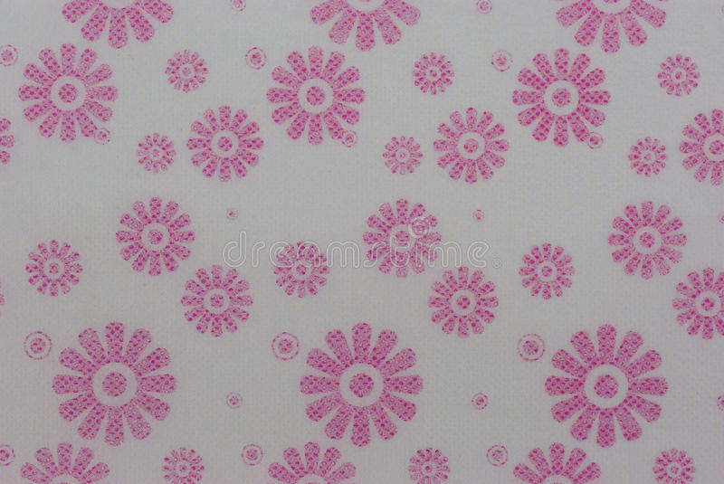 Pattern color pink flora on paper. Background stock photos