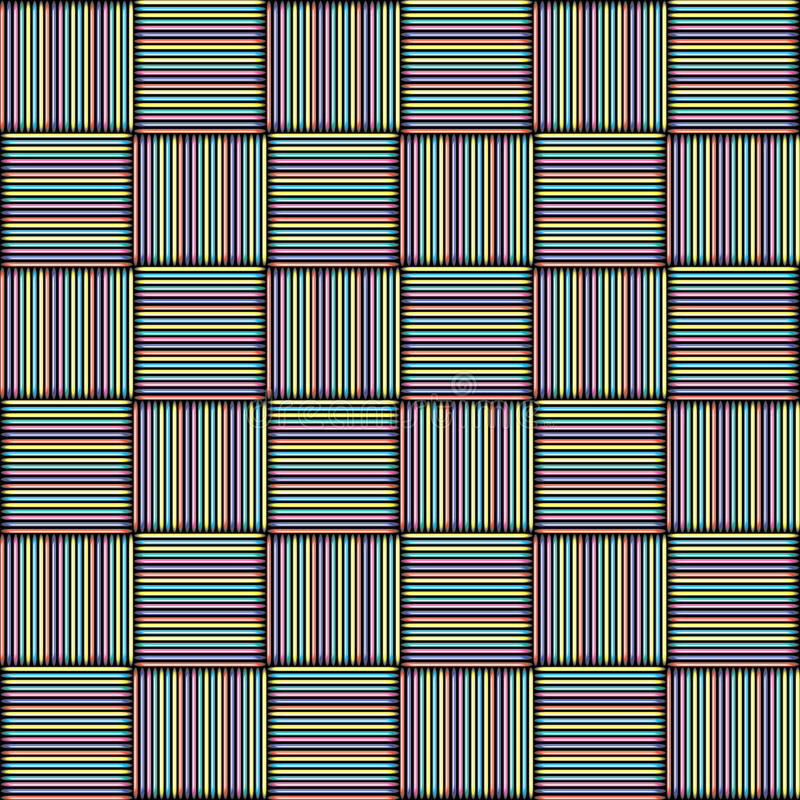 The pattern of colored squares. royalty free stock photo