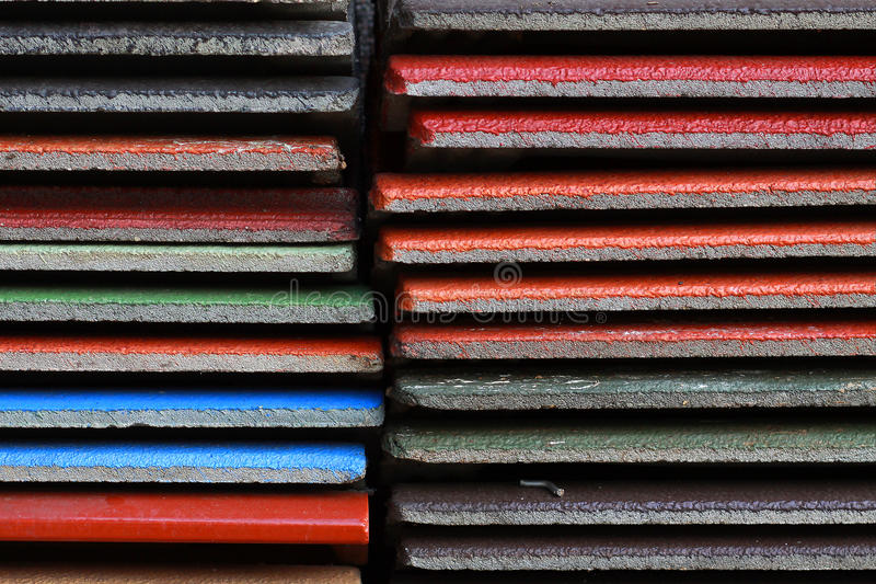 Download Pattern Of Colorful Roofing And Tile Stock Photo - Image: 25531126
