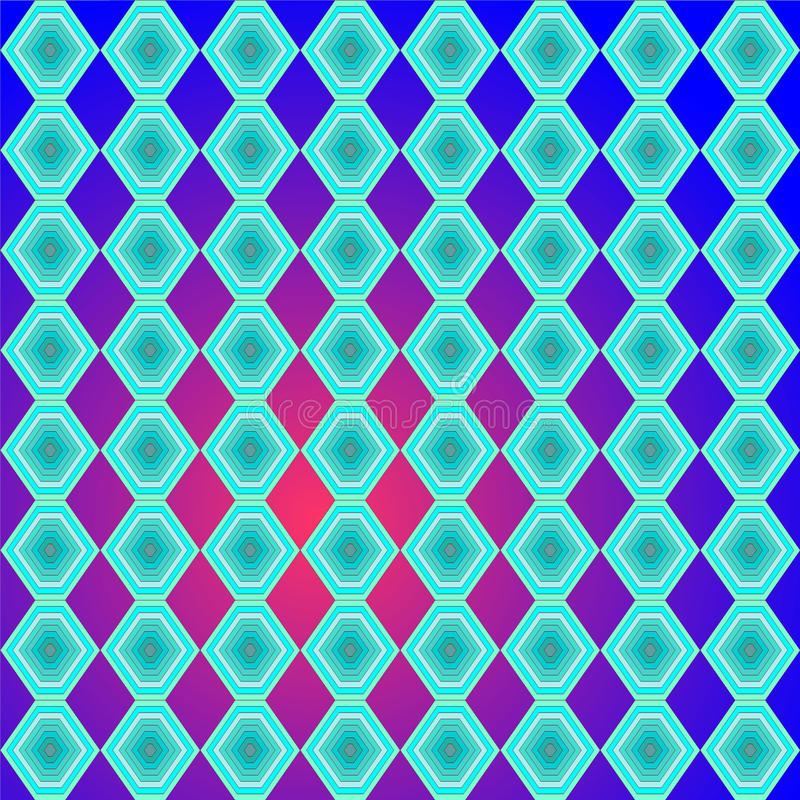 Pattern. Colorful synetric and hypnotic backgroung pattern vector illustration