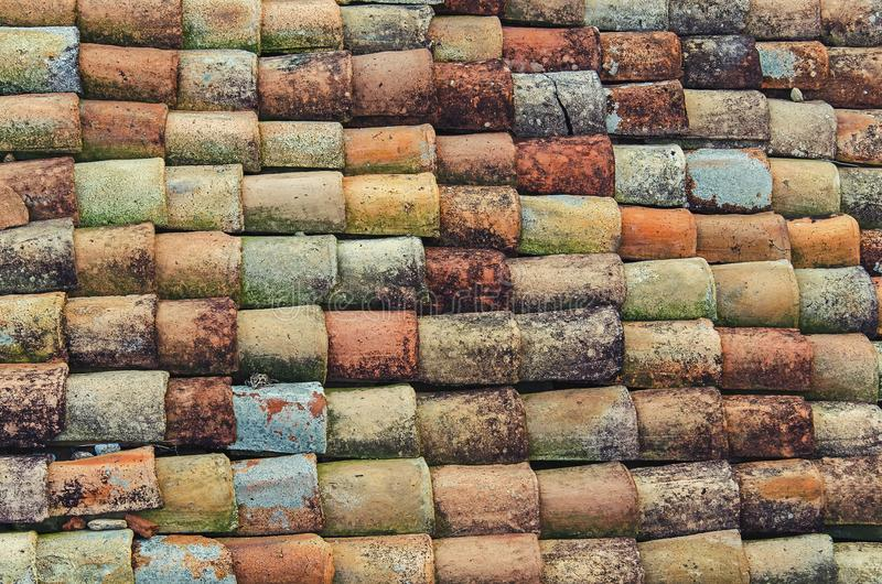 A pattern of colourful tile stock photo