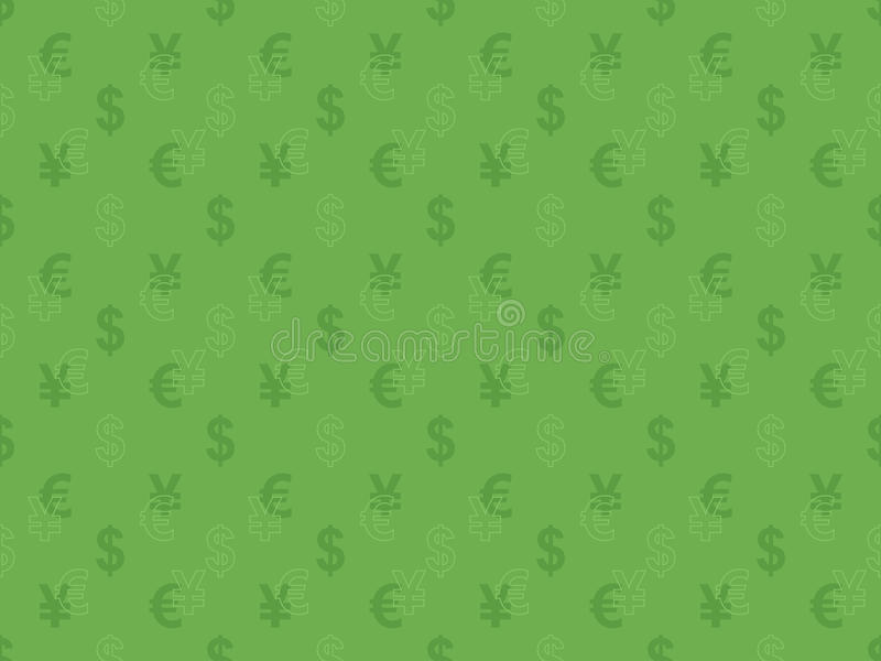 Download Pattern With Currency Signs Stock Image - Image: 29446835