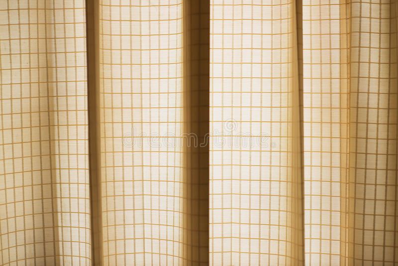 Pattern of Curtain. Hot colour pattern and lighting shadow royalty free stock photos