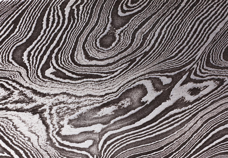 Pattern of Damask steel. Background with pattern of Damask steel, close up stock photos