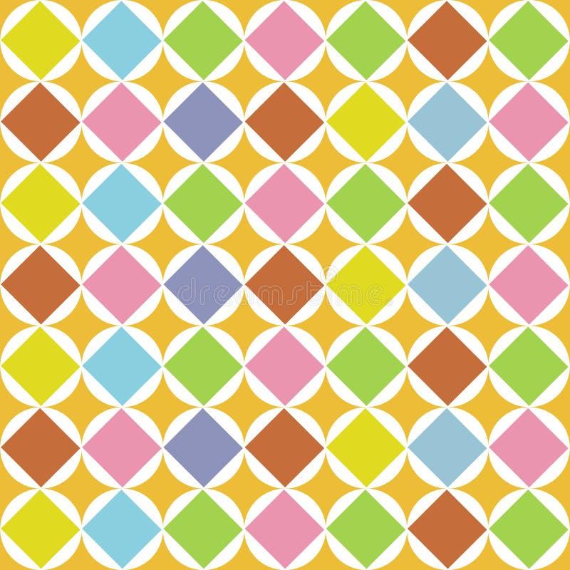 Pattern Diamonds Seamless Stock Image