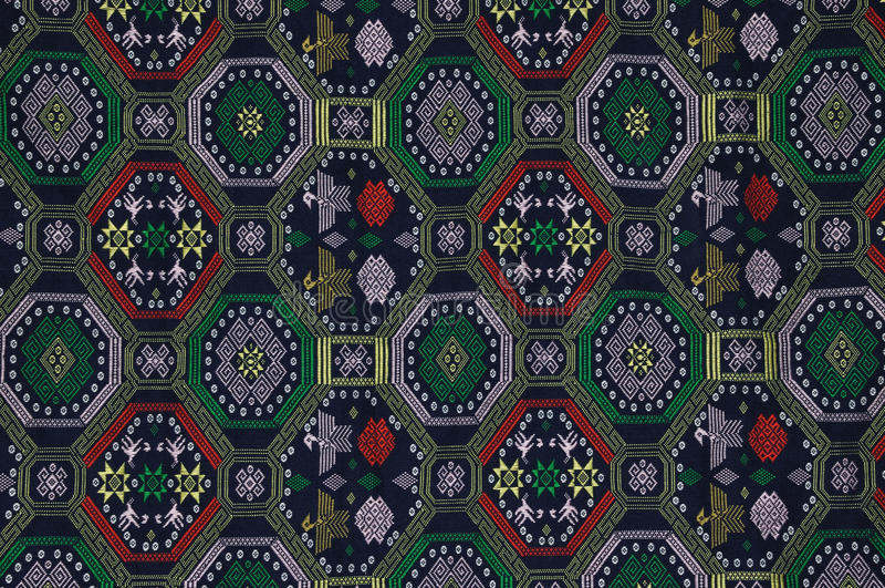 Download Pattern Of Embroidery Of Chinese Minority Style Stock Image - Image of nation, design: 14328103