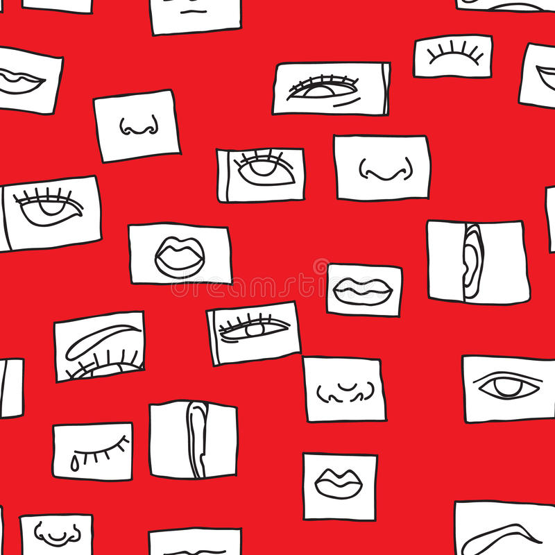 Download Pattern With Emotions Royalty Free Stock Image - Image: 31564486