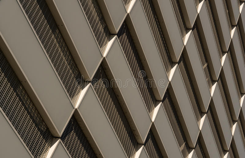 Pattern on a facade 1 stock photo