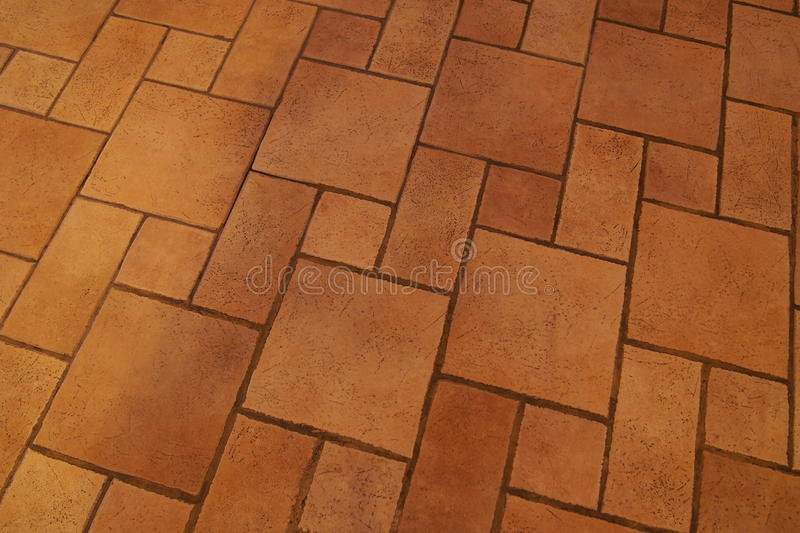 The pattern on the floor. ลายกะเบื้อง royalty free stock photo