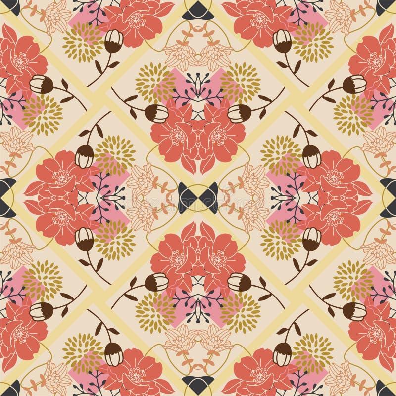 Pattern Flower Seamless Stock Photography