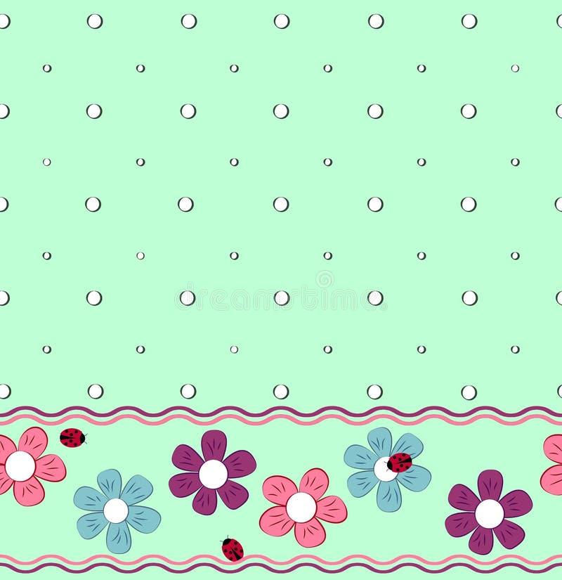 Pattern_ flower royalty free illustration
