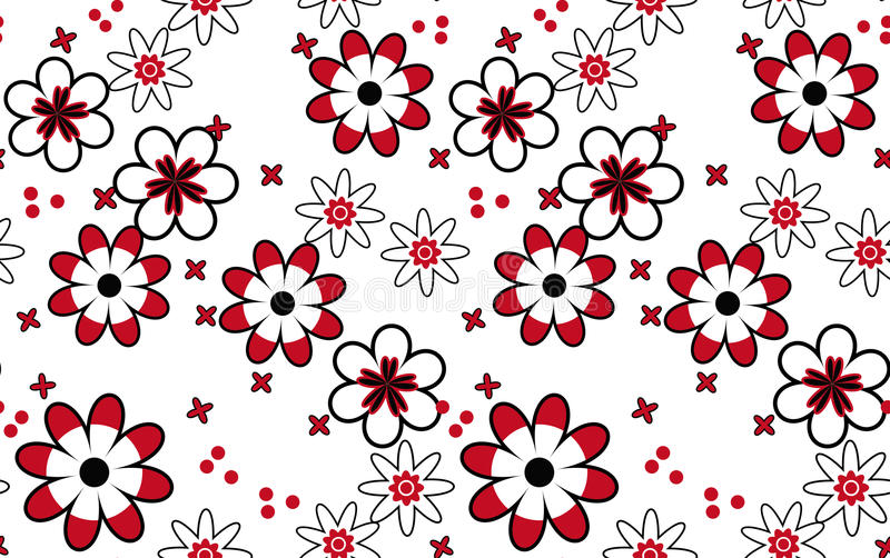 Download Pattern of flowers. stock vector. Illustration of illustration - 39511362