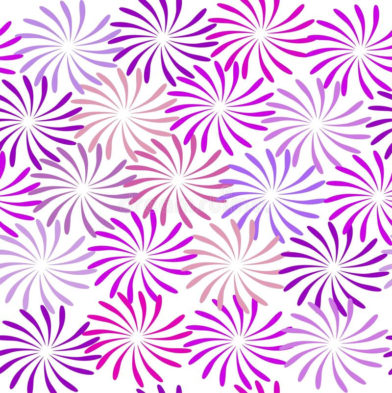 Vector illustration of flowers pattern stock photos