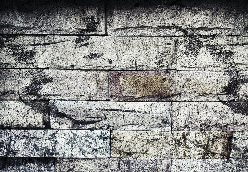 Pattern of foamed concrete block royalty free stock images