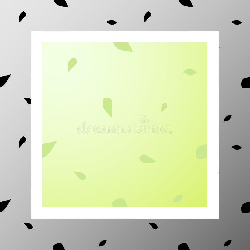 Pattern-012 - foglie royalty illustrazione gratis