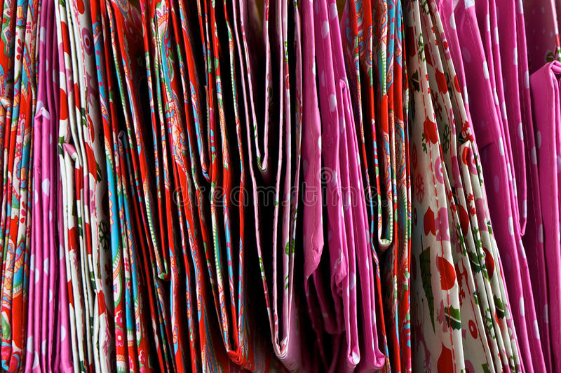 Download Pattern of folded bags stock photo. Image of small, colors - 26643412