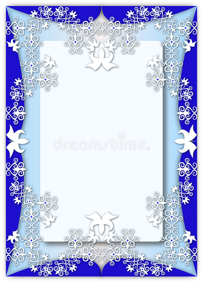 Pattern frame royalty free stock photography