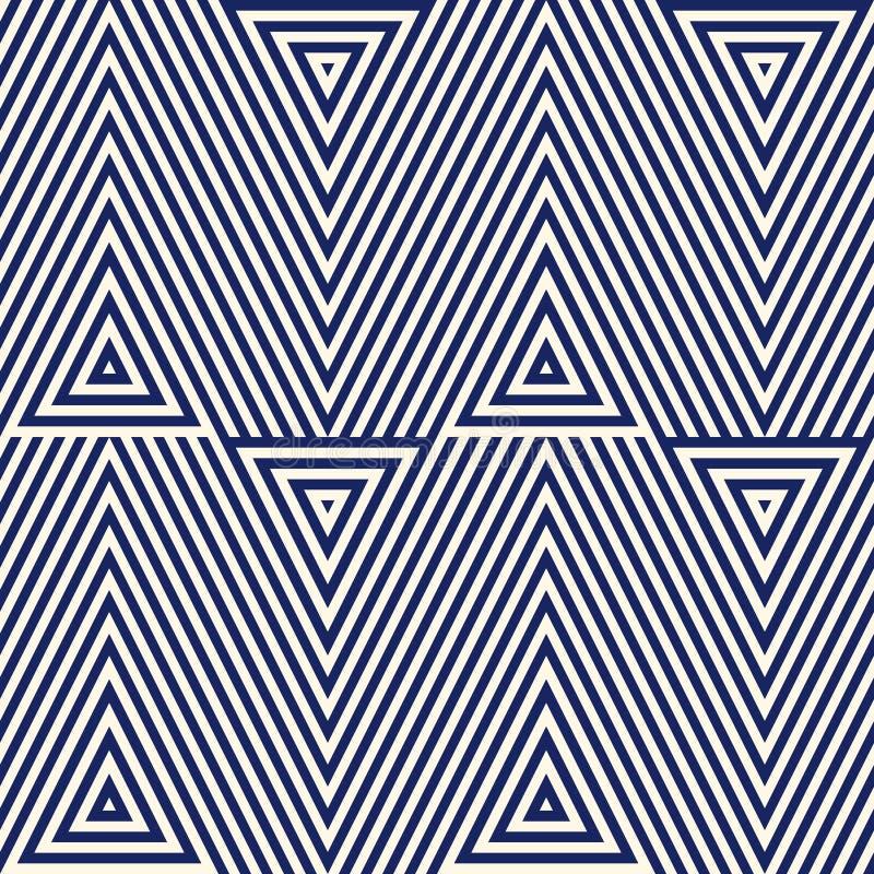 Repeated Blue Diamonds Background. Geometric Motif