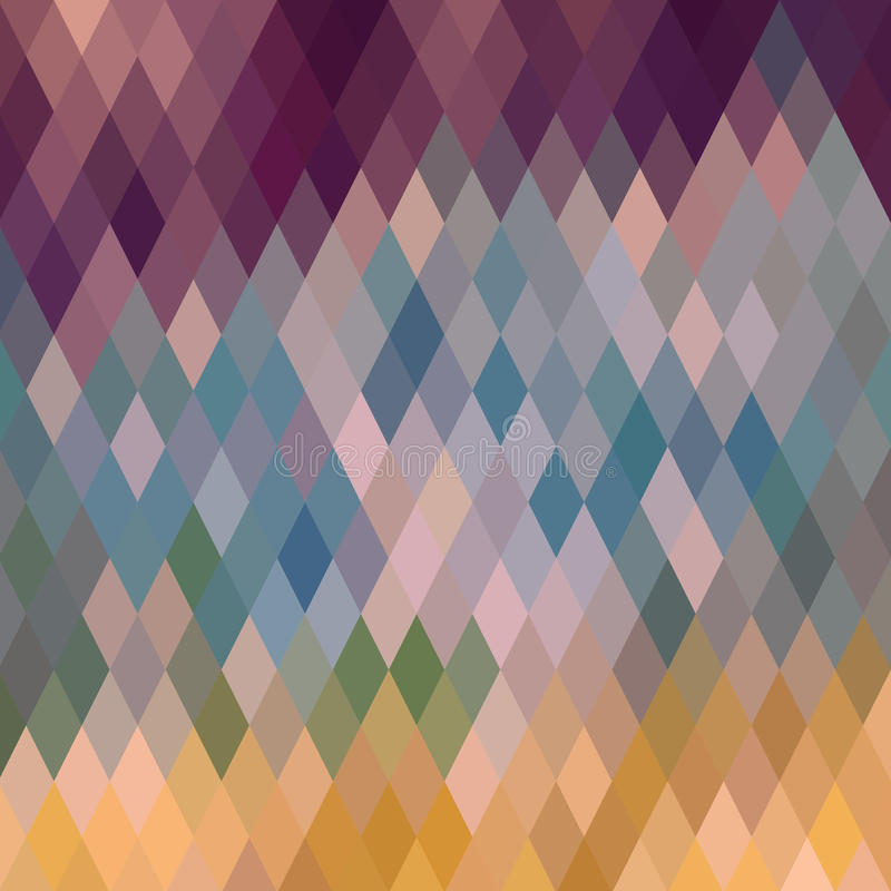 Pattern of geometric shapes, rhombic.Texture with flow of spectrum effect. Geometric background. vector illustration