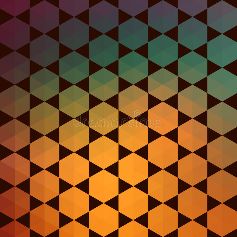 Pattern of geometric shapes.Texture with flow of spectrum effect. Geometric background. Vector trendy pattern vector illustration