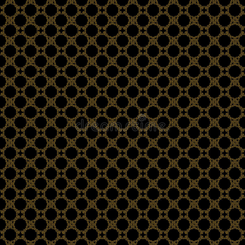 Pattern gold _decor background royalty free stock photos