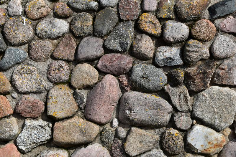 Stones outdoors wall background stock images