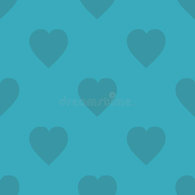 Pattern with hearts for print on fabric, gift wrap, web backgrounds, scrap booking, patchwork. Vector illustration Seamless background vector illustration