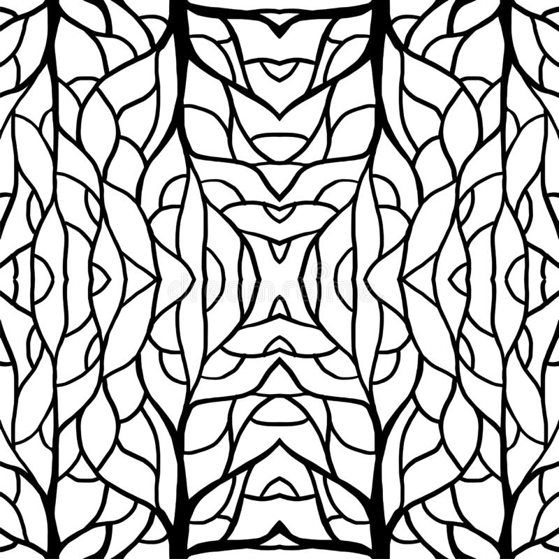 Pattern illustration root center for textile and printing high fashion vector illustration