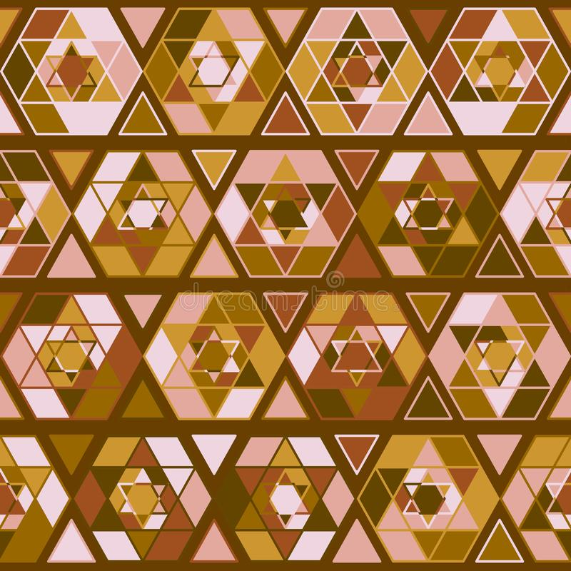 Pattern with judaism star. Seamless jewish pattern with judaism star. Vector illustration for your graphic design vector illustration