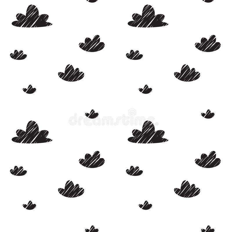 Pattern for kids, girls and boys. Vector illustration. It can be used to create prints, packaging, invitations, simple designs, gi stock images