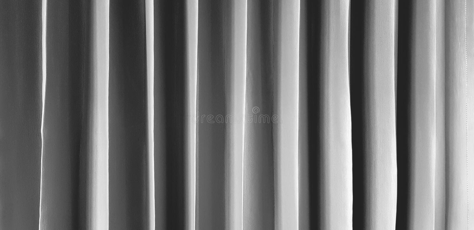Pattern line of gray or Grey curtain for background. Art wallpaper stock images