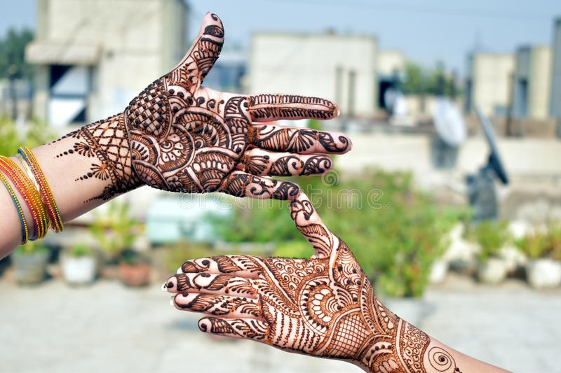 Pattern, Mehndi, Design, Henna stock photo