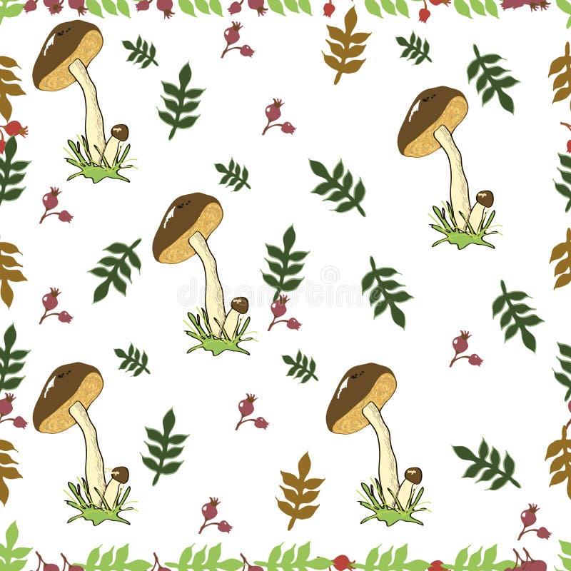 Pattern mushroom. stock image